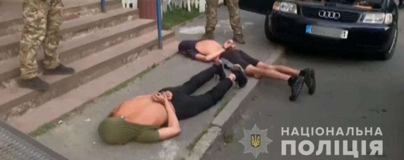 В Виннице задержали бандитов, которые взрывали банкоматы на территории Украины