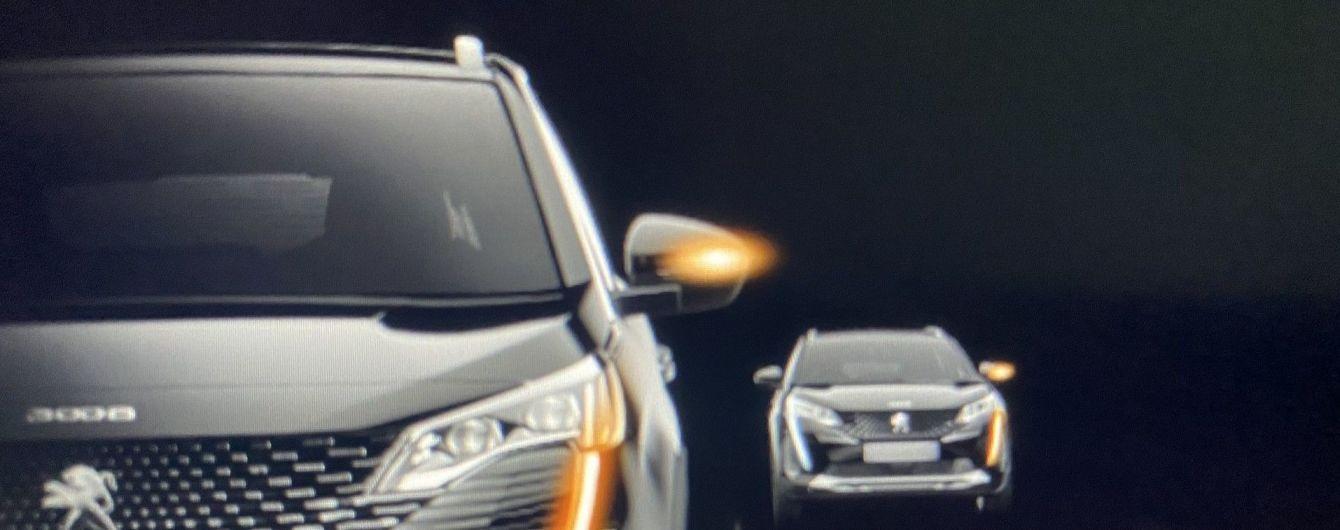 В Сети появились первые фото обновленного Peugeot 3008