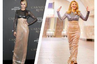 Битва роскошных платьев: Тина Кароль vs Кара Делевинь