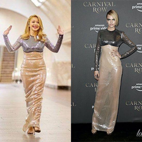 Кому більше личить сукня від David Koma?