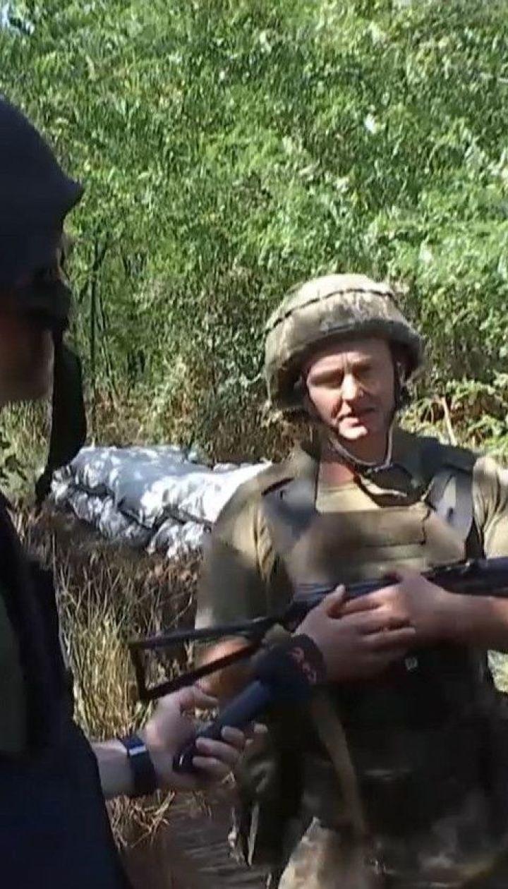 Бойовики поблизу Горлівки провокують українських військових, намагаючись зав'язати бій