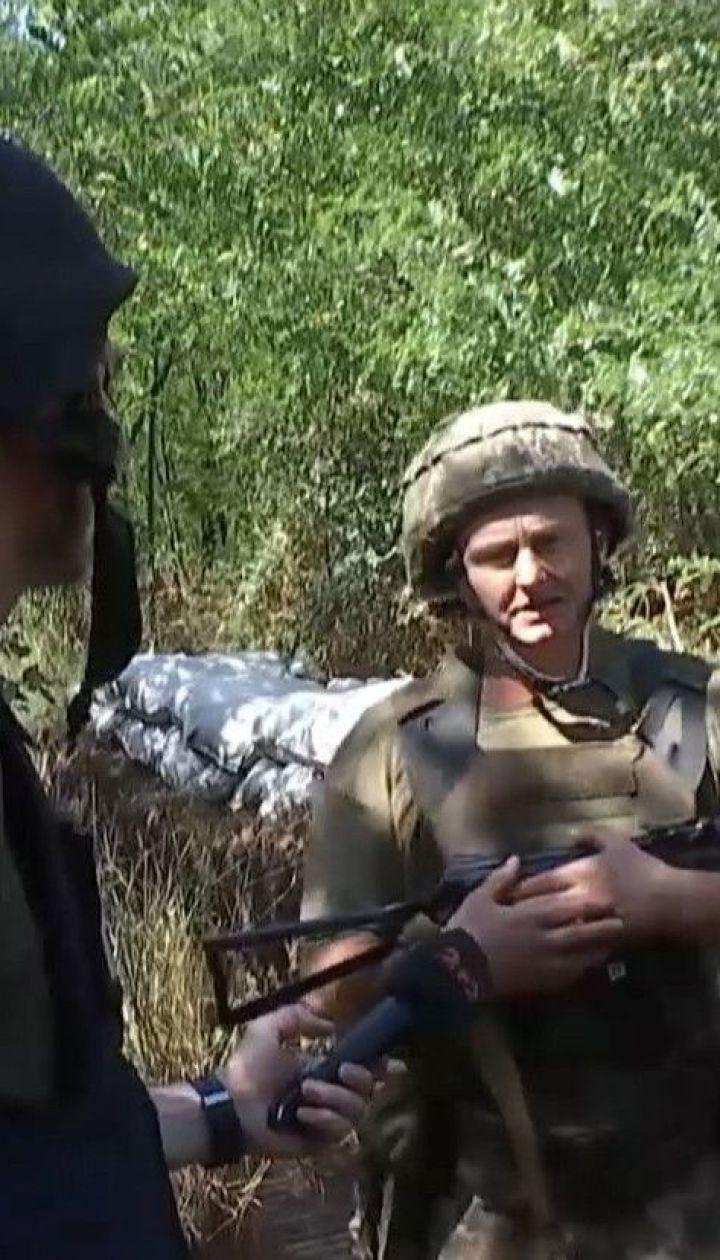 Боевики вблизи Горловки провоцируют украинских военных, пытаясь завязать бой