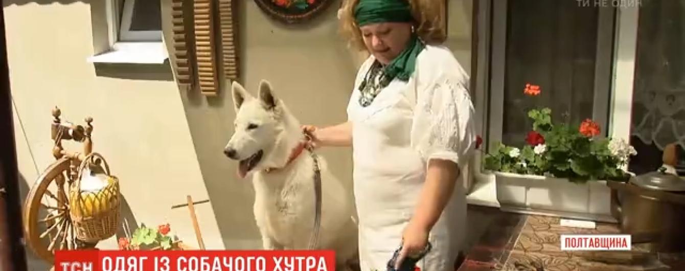 В Полтавской области мастерица изготавливает изысканные наряды из меха своих домашних любимцев