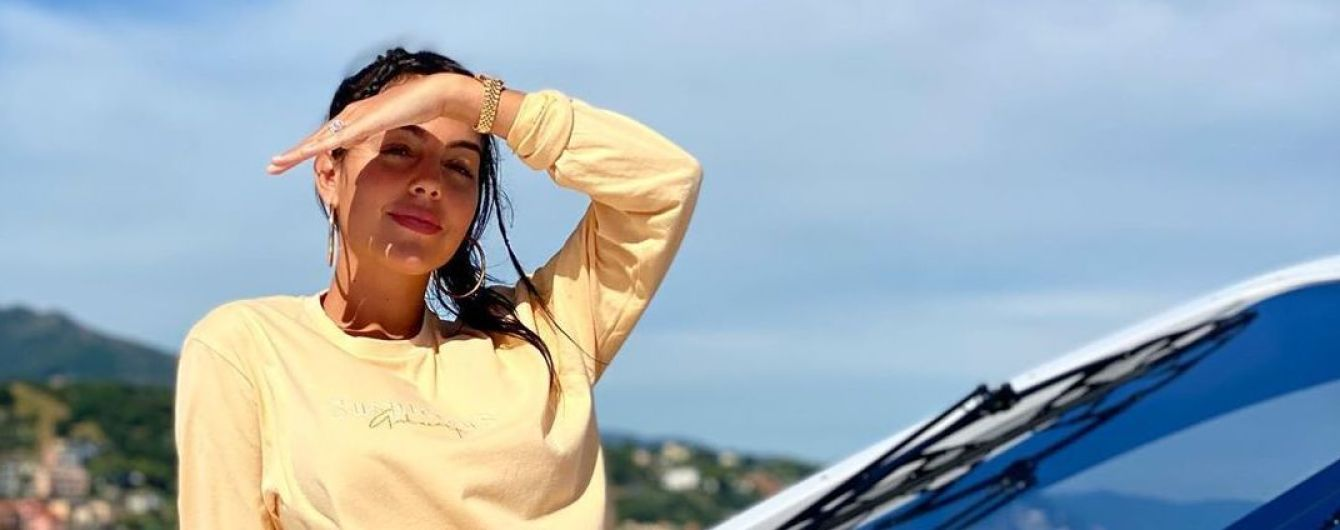Блиснула п'ятою точкою в стрингах: Джорджина Родрігес показаала, як відпочивала з сім'єю на яхті