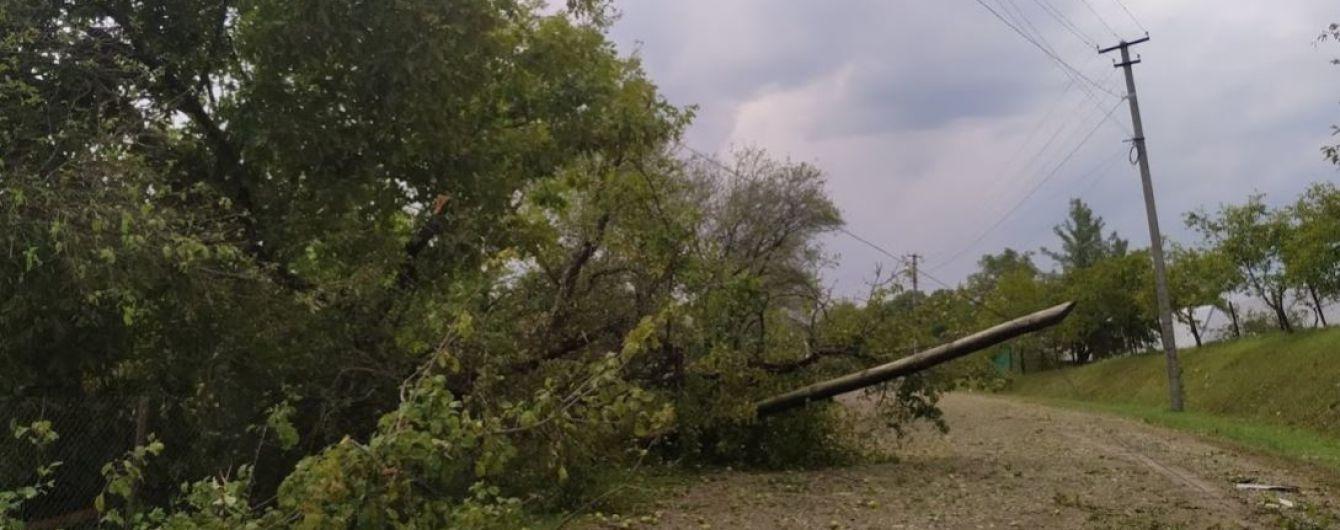 В некоторых регионах Украины объявили штормовое предупреждение