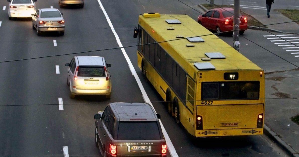 У Києві на День захисника України обмежать рух транспорту