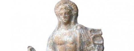 В Одесской области археологи нашли уникальную статуэтку с изображением античного божества