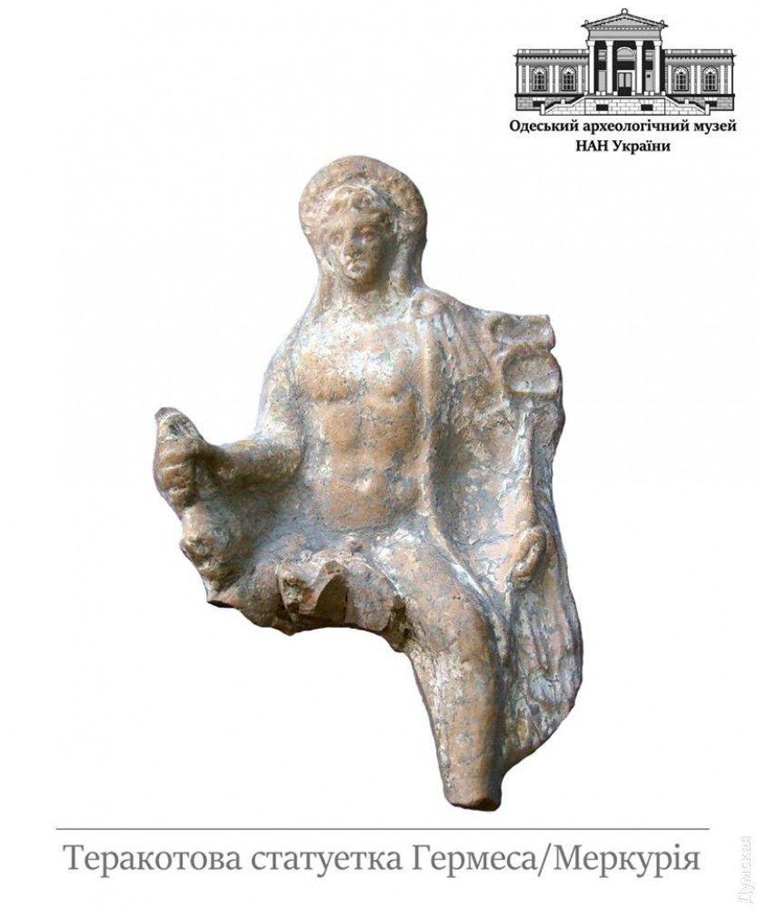 На Одещині археологи знайшли унікальну статуетку із зображенням античного божества
