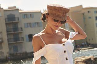 Трав'яний ромпер і ажурна сукня: вояж-образи від Олени Лавренюк