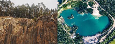 Базальтові стовпи у Рівненській області: відпочинок біля озера  та унікальної природної пам'ятки