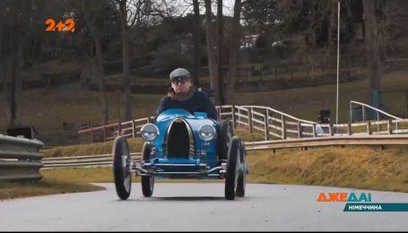 """В Германии создали миникопию авто """"Бугатти"""", что изготовлялся в начале 20 века"""