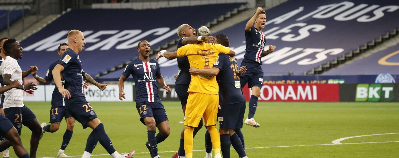 Триумфаторы Кубка лиги: сейв Наваса подарил ПСЖ третий трофей сезона