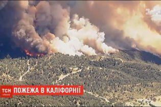 У Каліфорнії палають 1500 гектарів землі - для людей створили евакуаційні центри