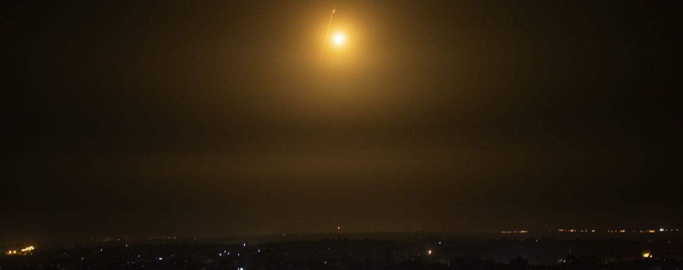 Відповідь на ракетний обстріл: Ізраїль завдав удару по об'єкту ХАМАСу в Газі