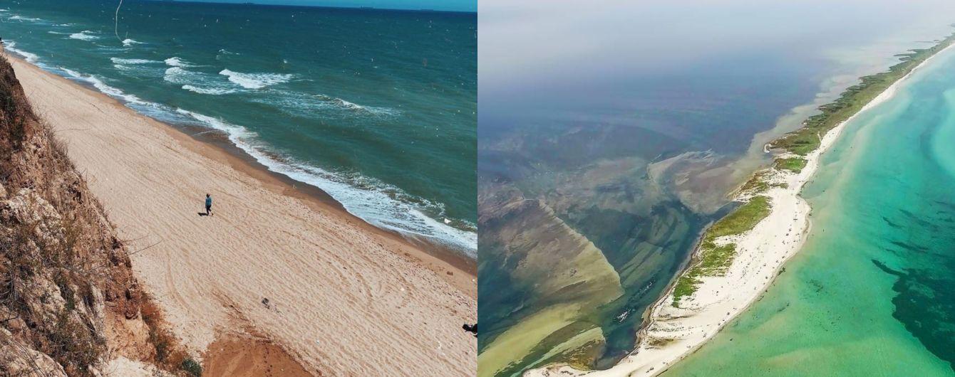 Живописная Санжийка и дикий Джарылгач: топ-5 мест для морского отдыха