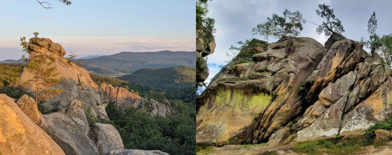 Скелі Довбуша в Івано-Франківській області: активна відпустка серед Карпатських лісів