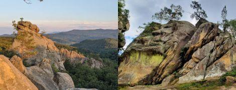Скалы Довбуша в Ивано-Франковской области: активный отпуск среди Карпатских лесов