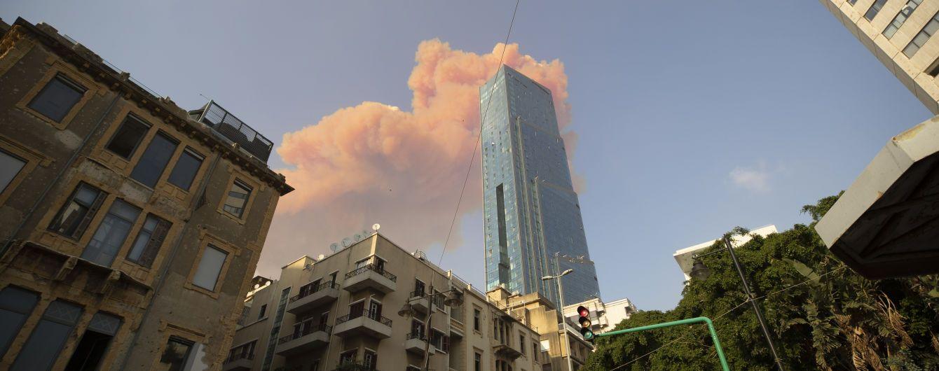 Як Зеленський та інші лідери держав відреагували на масштабний вибух у Бейруті
