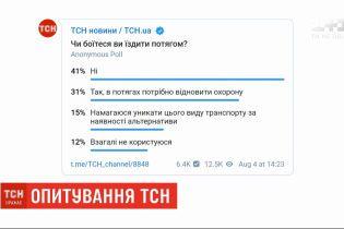 ТСН опросила людей, боятся ли украинцы путешествовать поездами