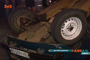 Догори-дриґом: дтп в Одесі спричинила кількагодинні затори