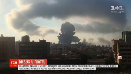 У Бейруті вибух небаченої сили забрав життя щонайменше 50 людей