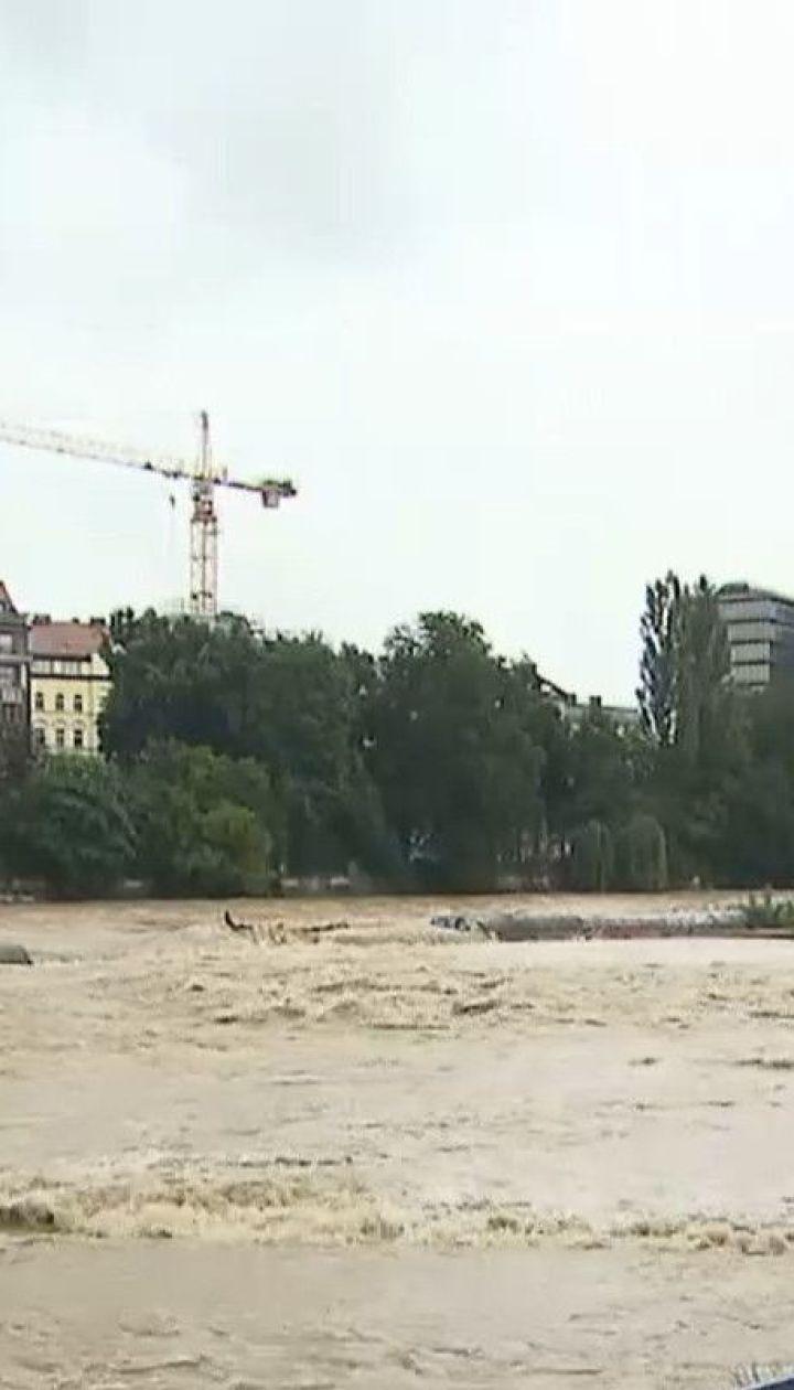 После сильных ливней Бавария страдает от паводков и оползней