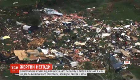 "В США от шторма ""Исаяс"" умерли как минимум мере 4 человека"
