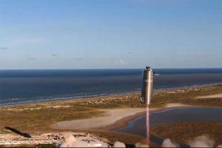 Марс все ближе: SpaceX провела первое успешное испытание ракеты Starship