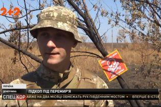 Российские оккупанты на участке фронта возле Азова интенсивно обустраивают новую систему укреплений