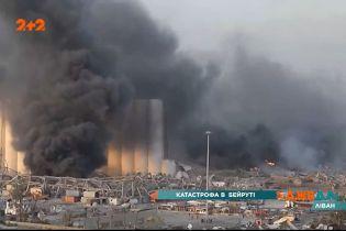 У Бейруті вибухнув корабель, заповнений тонами вогненебезпечної речовини