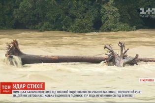 Бавария страдает от паводков и оползней