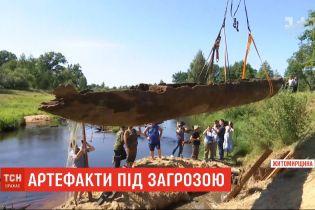 Українські артефакти - довбанки - можуть опинитися під загрозою через недофінансування музеїв