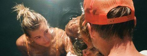 Пастор покрестил Джастина Бибера с женой Хейли прямо с яхты