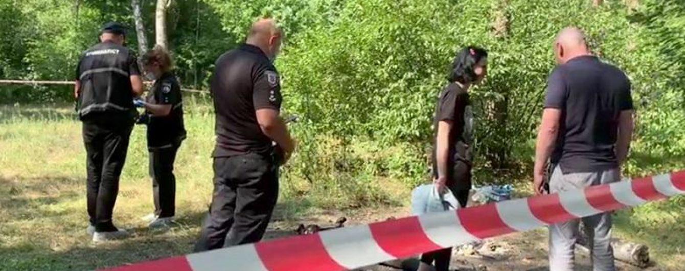 В Киеве женщина расчленила тело мужчины и жгла останки в лесу