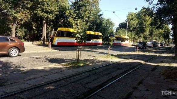 Трамвай в Одессе