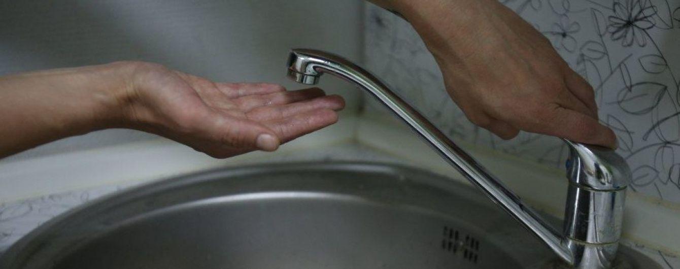 В Крыму вводят жесткий этап ограничений подачи воды