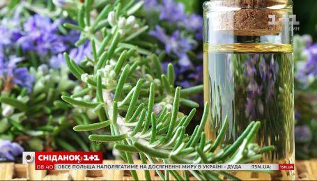 Антоніна Лесик розказала, як доглядати за розмарином та поділилась рецептом розмаринової олії