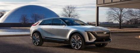 General Motors представив свій перший повністю електричний кросовер Cadillac Lyriq