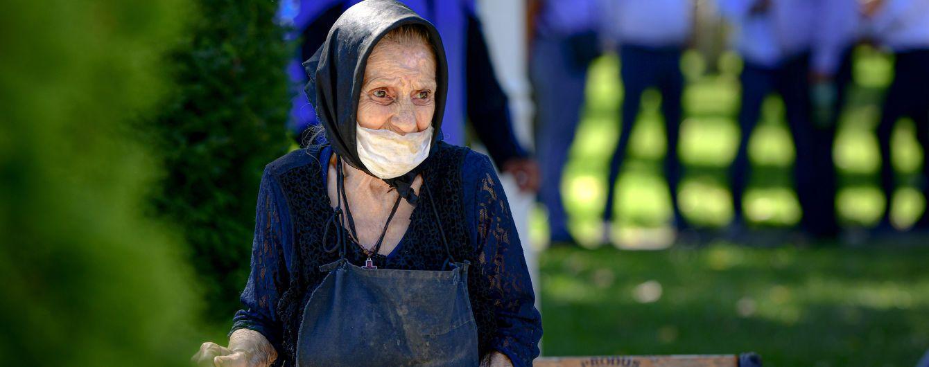 У Румунії зафіксували антирекорд зараження коронавірусом