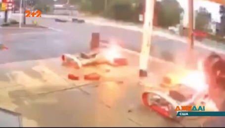 В США произошла авария на автозаправке