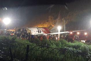 В Индии число погибших в результате жестокой посадки эвакуационного самолета возросло до 20
