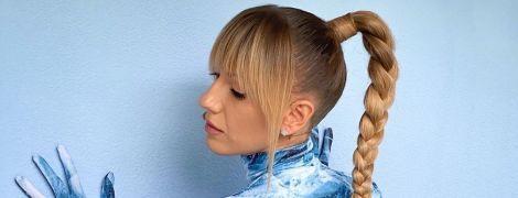 Містична Леся Нікітюк зі смолоскипом в руках зачарувала в образі доньки бога Перуна