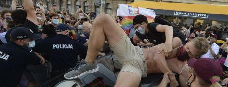Полиция Варшавы задержала полсотни людей во время ЛГБТ-акции