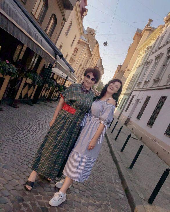 Соломия Витвицкая с мамой