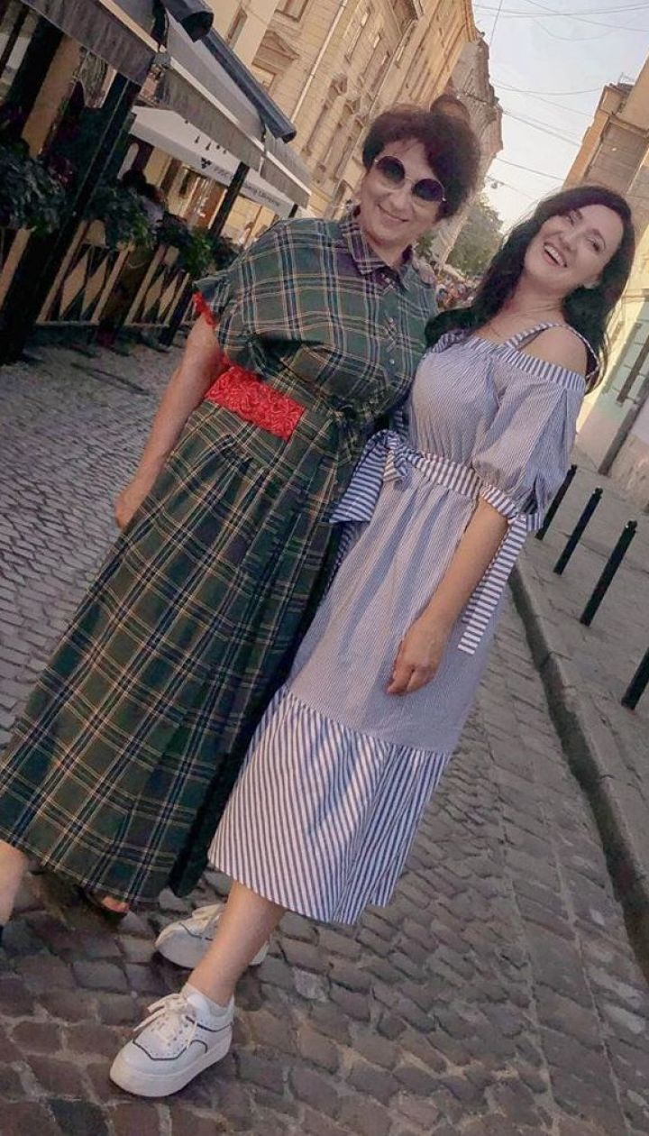 Соломія Вітвіцька з мамою