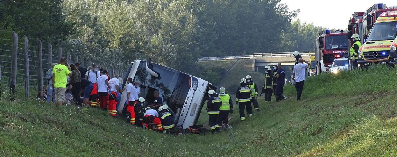 В Угорщині автобус з поляками потрапив у ДТП: одна особа загинула, ще 34 поранені