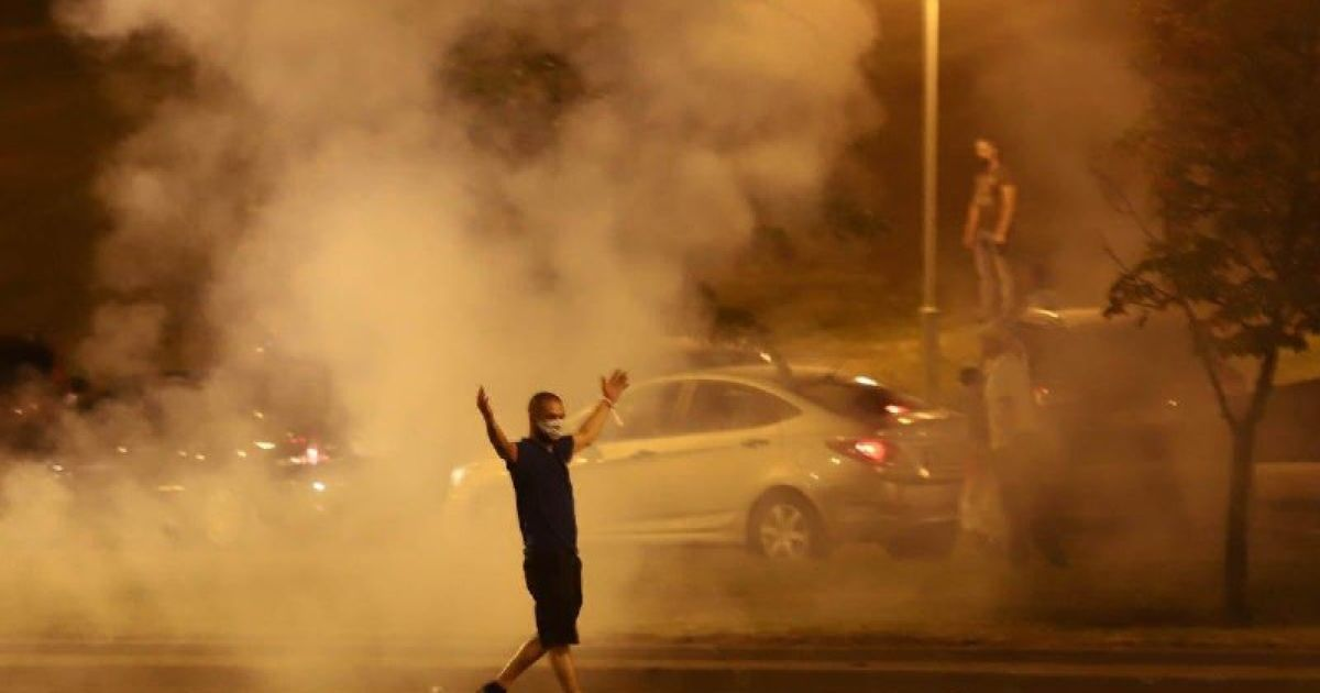 протесты в Минске @ Наша Ніва