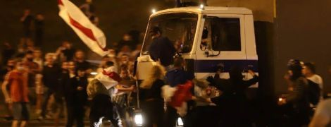 Протесты в Минске в фото: десятки задержанных и раненых во время столкновений с силовиками