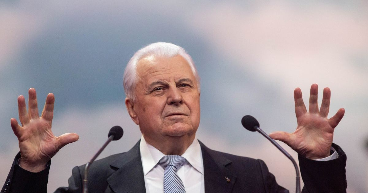 Кравчук відхрестився від скандальних заяв свого заступника Фокіна про Донбас