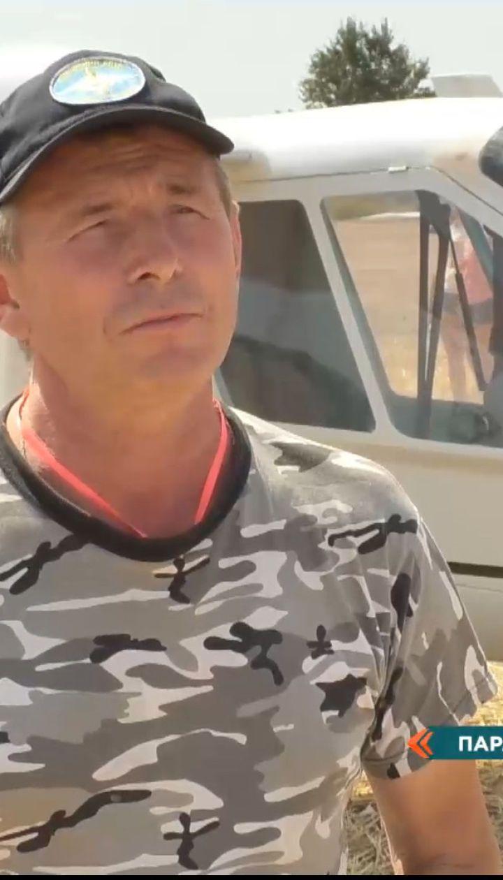 У Черкаській області відбулося авіашоу за участі саморобних літаків – репортаж з місця подій